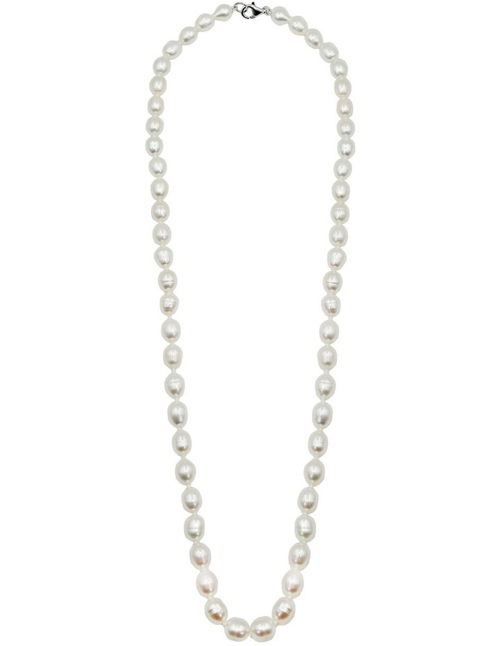 The Classic Pearl White Necklace image 3