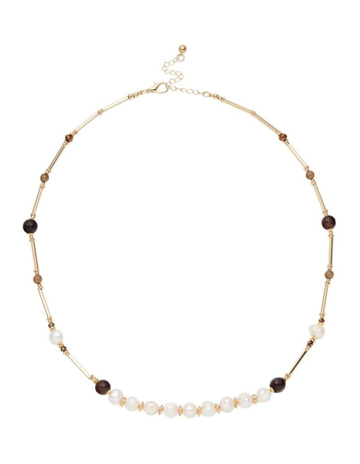 Fresh Water Pearl Autumn Necklace image 1