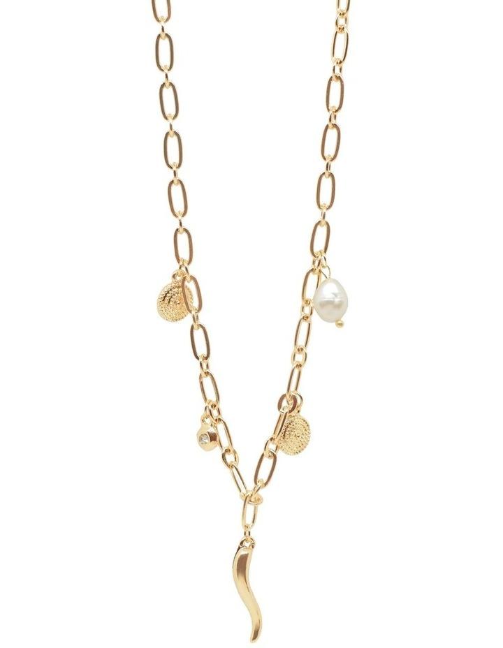 Aja Multi Charm Short Necklace image 1