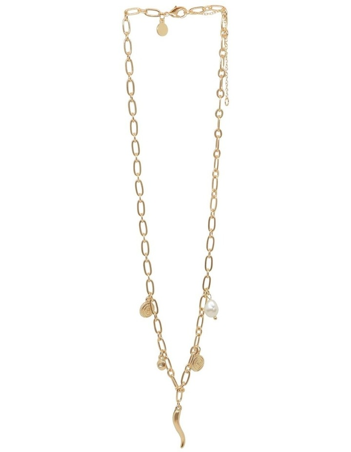 Aja Multi Charm Short Necklace image 3