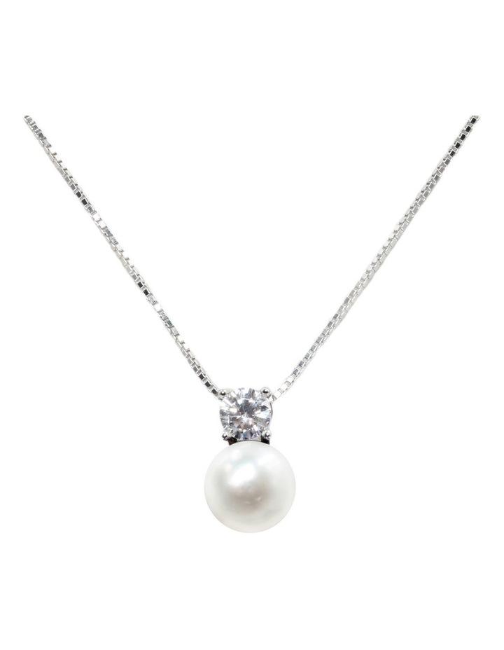 Simply Brilliant Pearl Pendant image 1