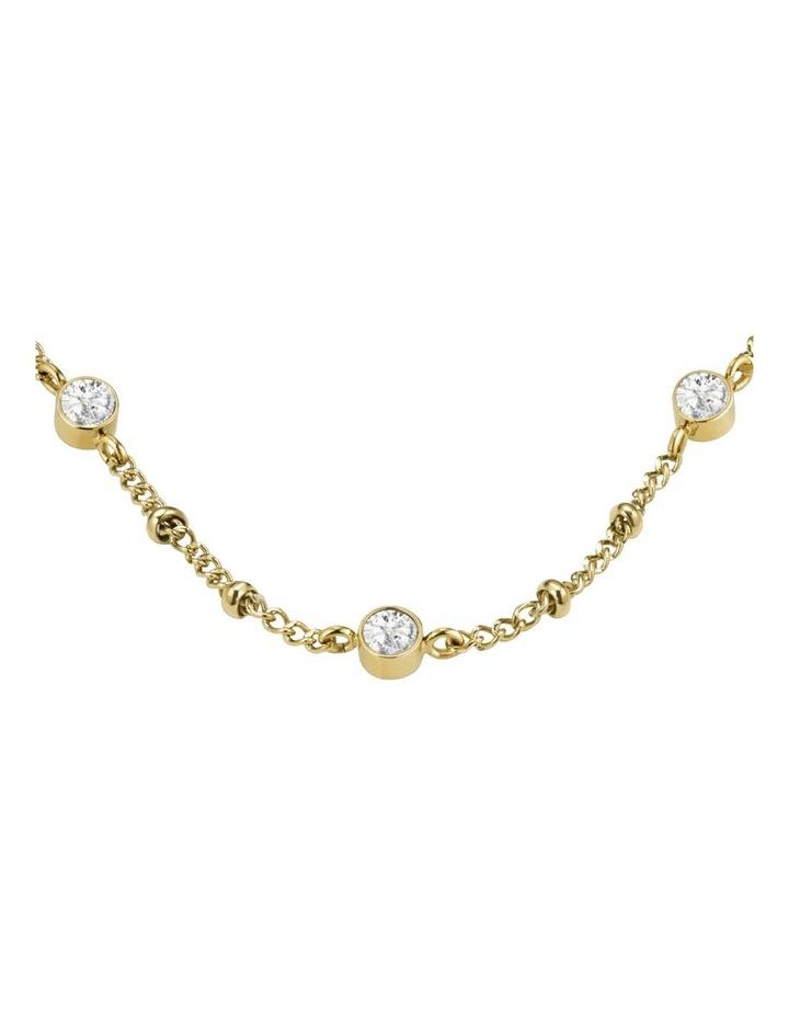 JCSCS-J265 Raye Crystal Choker Necklace - Gold image 2