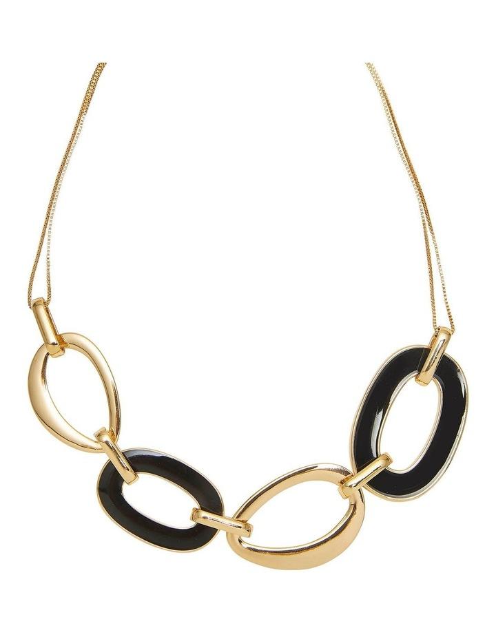 Enamel Link Necklace image 2