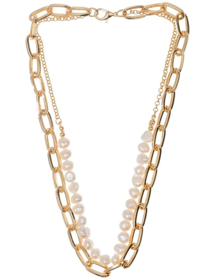 Pearl Chain Necklace image 1