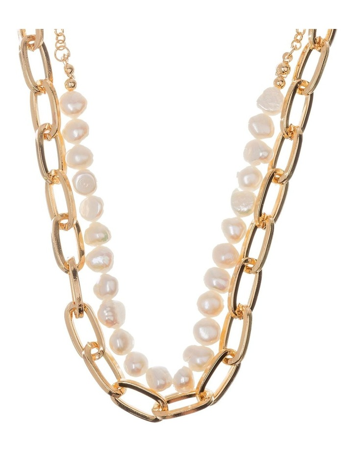 Pearl Chain Necklace image 2