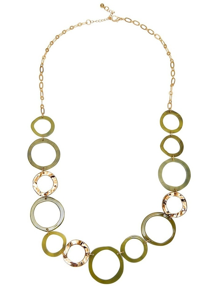 Resin Ling Rope Necklace image 1