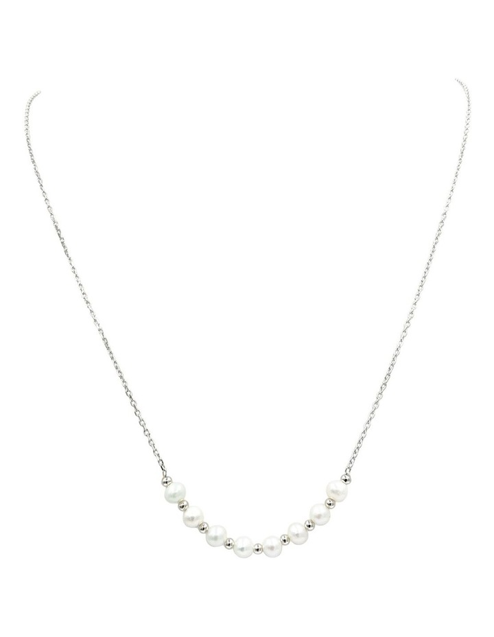 String of Pearl Chain Necklace image 1