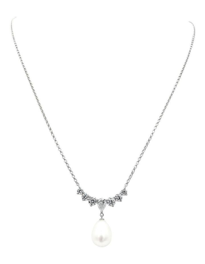 Bridal Pearl Pendant image 1