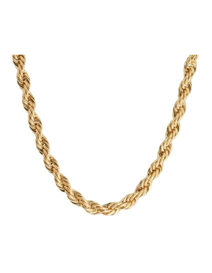 Ariel Twisted Choker Gold Necklace image 1