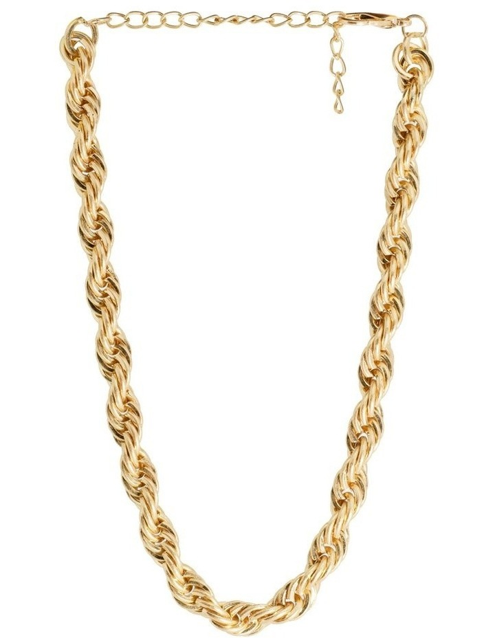 Ariel Twisted Choker Gold Necklace image 3