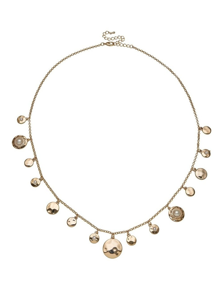 Spot Pearl Charm Necklace image 1