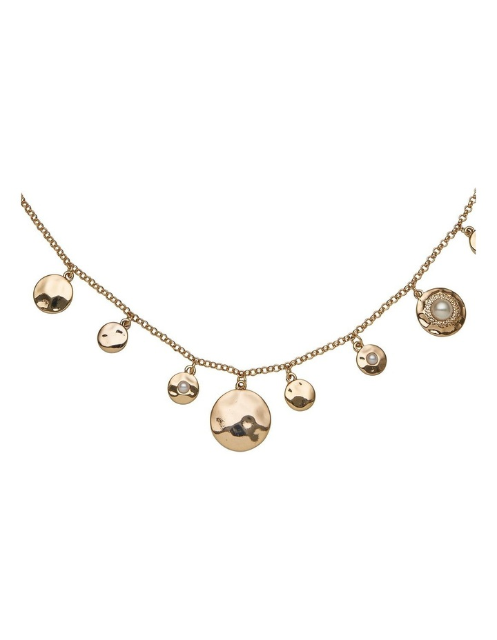 Spot Pearl Charm Necklace image 2