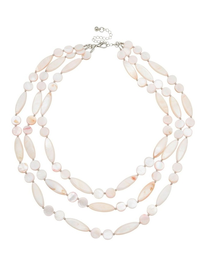 Mutli Strand Shell Necklace image 1