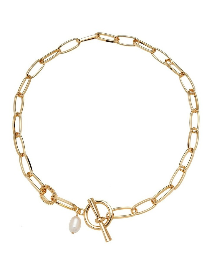 Pearl Fob Necklace image 1