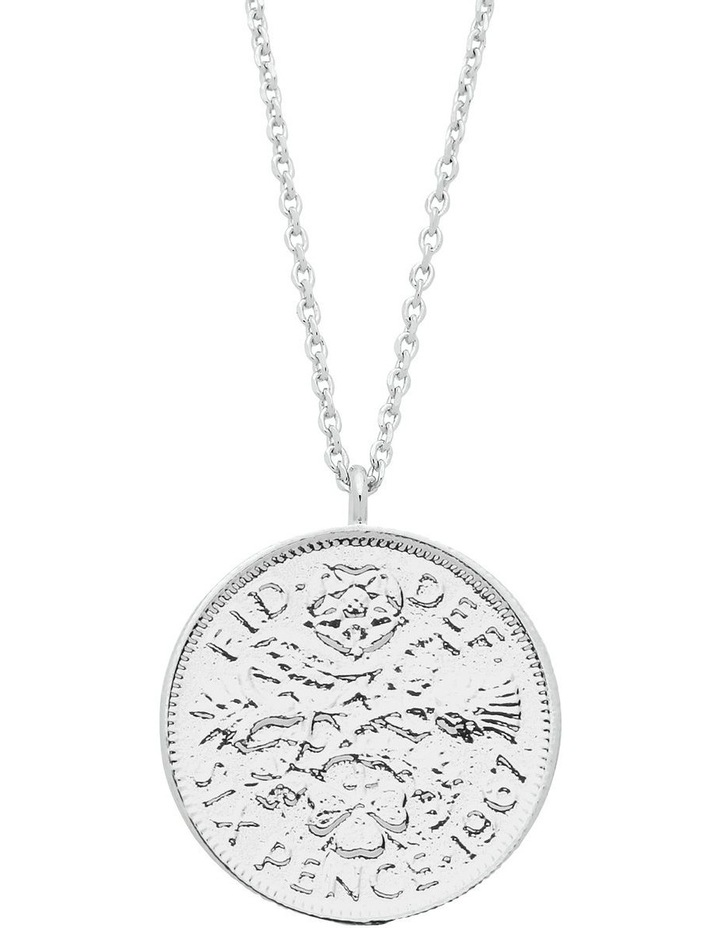 Lucky 6 Pence Necklace image 1