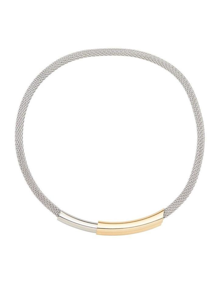 Mode Bar Gold Necklace image 1