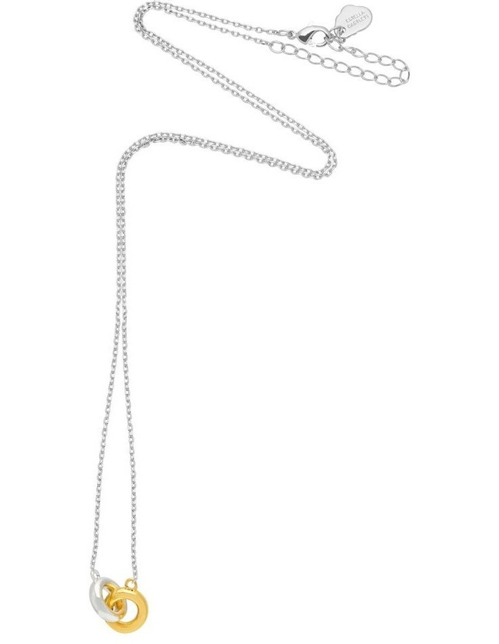 Chunky Interlinked Silver Necklace image 3