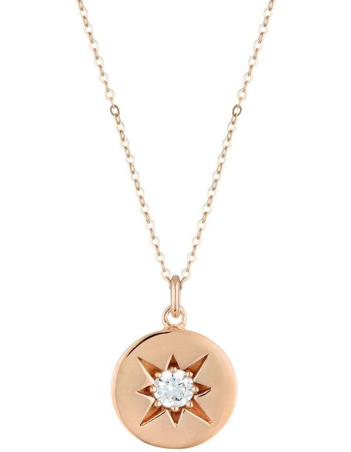 Stellar Lights Pendant Rose Gold Necklace image 1