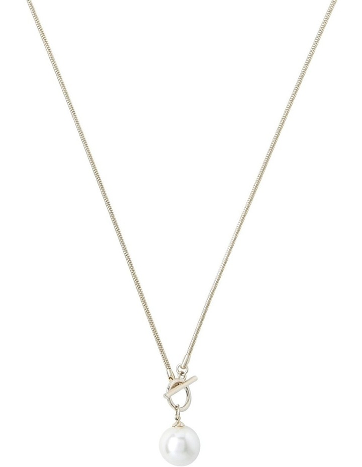 Single Pearl Chain Necklace image 2