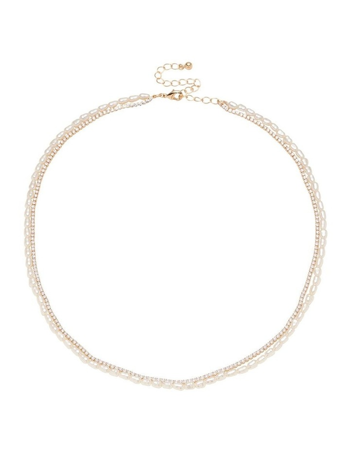 Fine Seed Pearl Necklace image 1