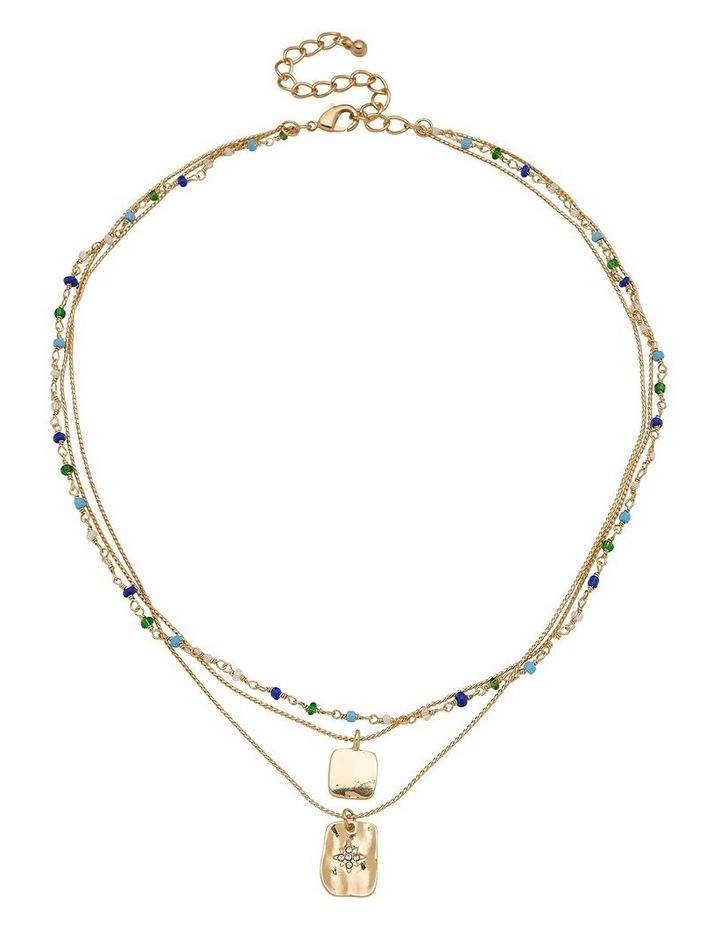 Bead & Charm Multi Necklace image 1