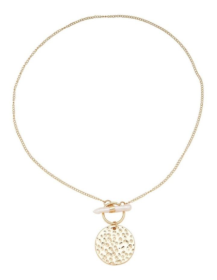 Pearl Drop Pendant Necklace image 1