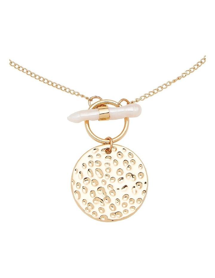 Pearl Drop Pendant Necklace image 2