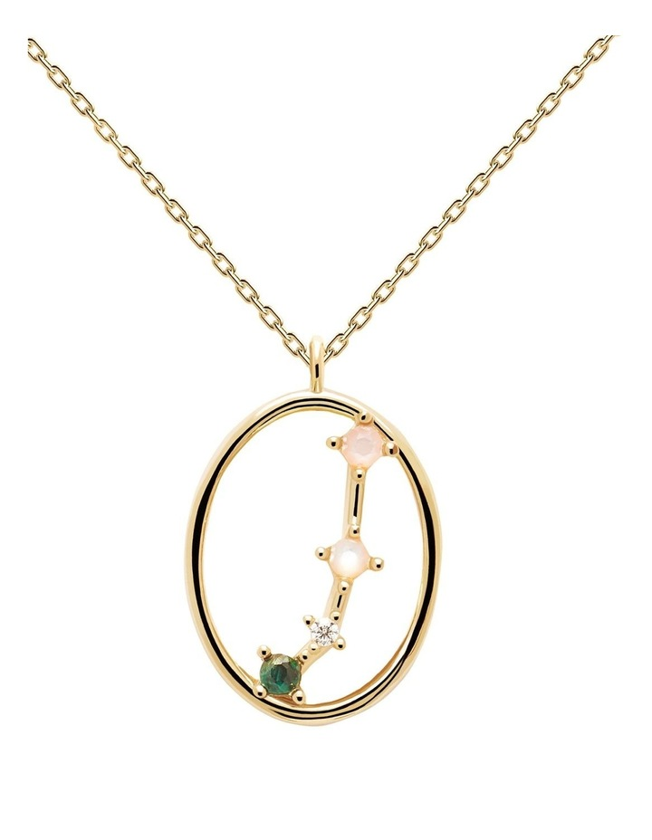 Zodiac 18ct Gold Plated Necklace image 1