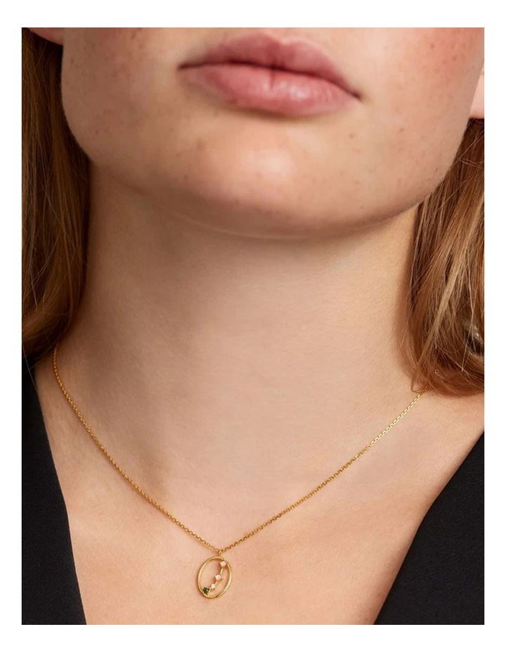 Zodiac 18ct Gold Plated Necklace image 2