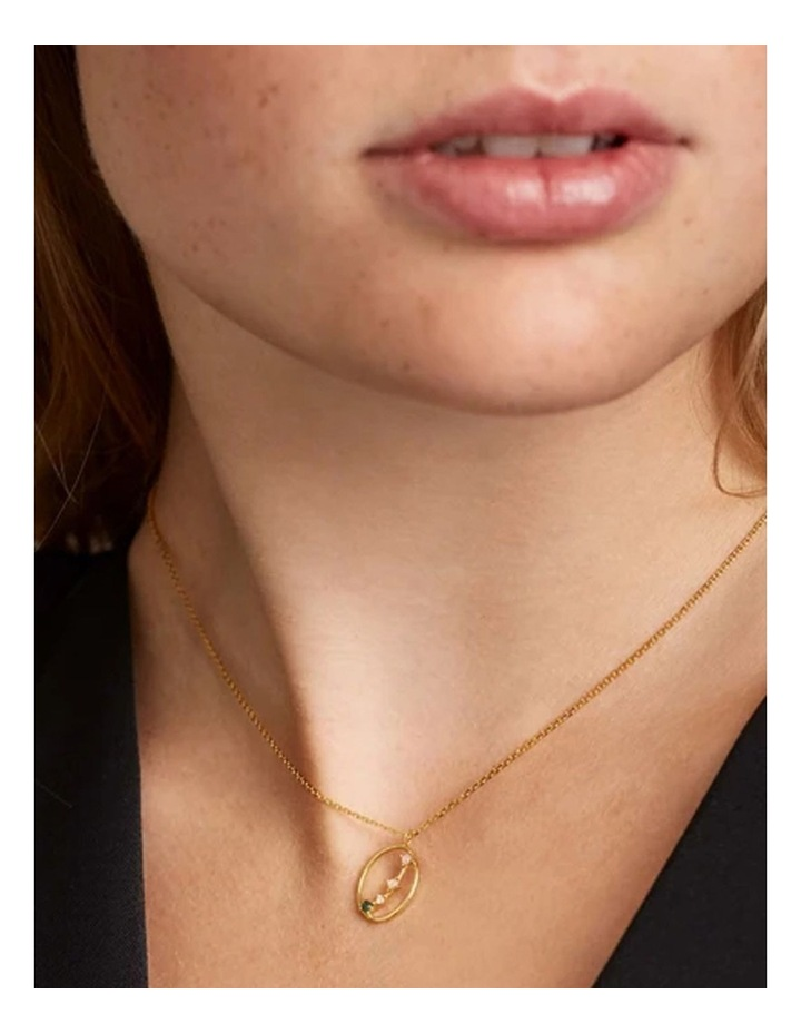 Zodiac 18ct Gold Plated Necklace image 3