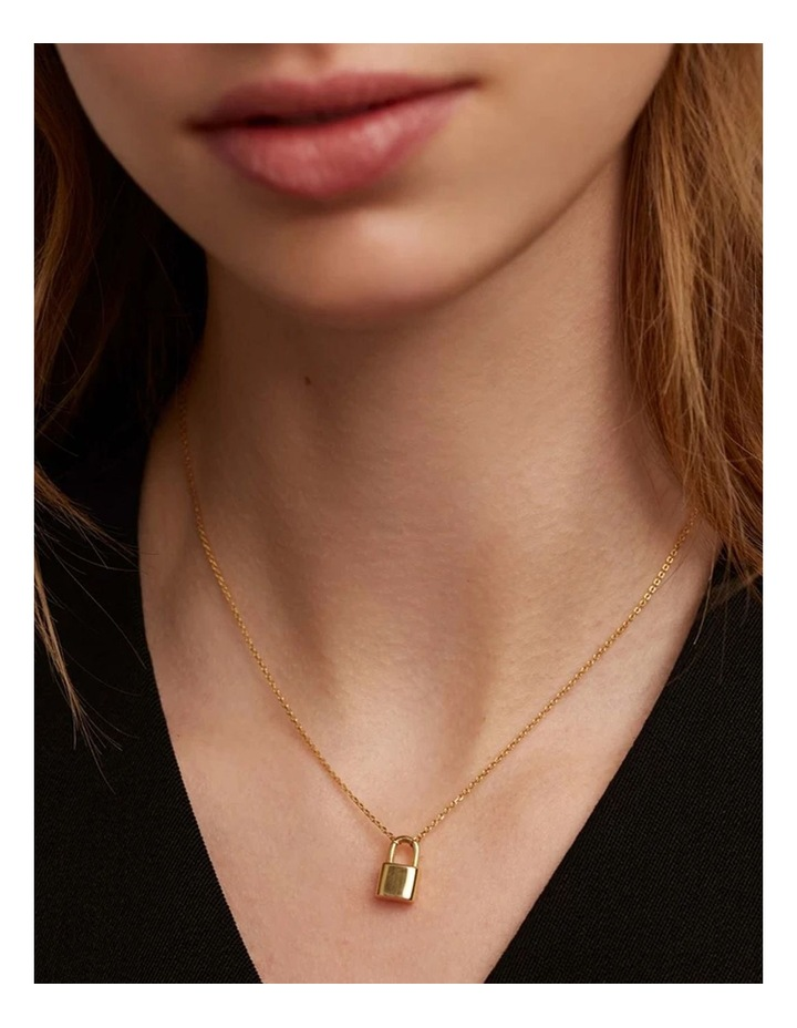 Bond 18ct Gold Plated Necklace image 2