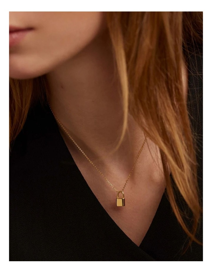 Bond 18ct Gold Plated Necklace image 6