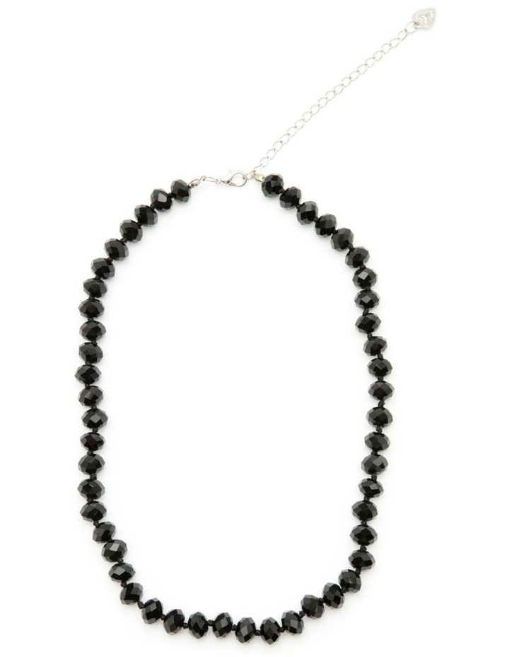 Short black necklace image 1