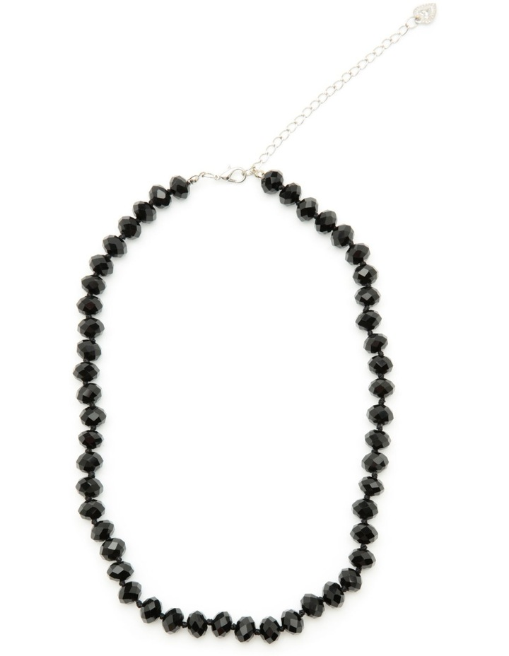 Short black necklace image 2