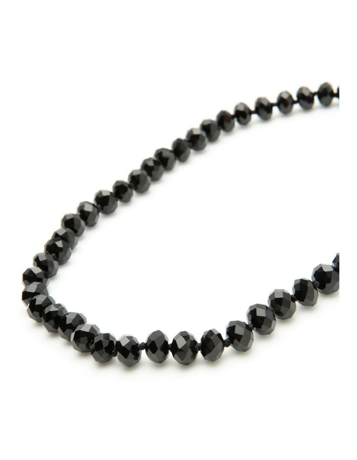 Short black necklace image 3