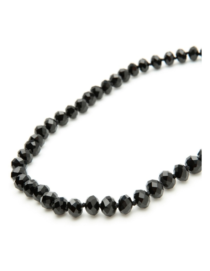 Short black necklace image 4