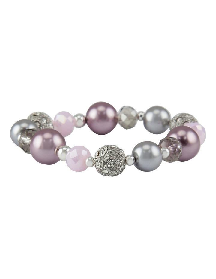 Pearl Opulence Stretch Bracelet image 1