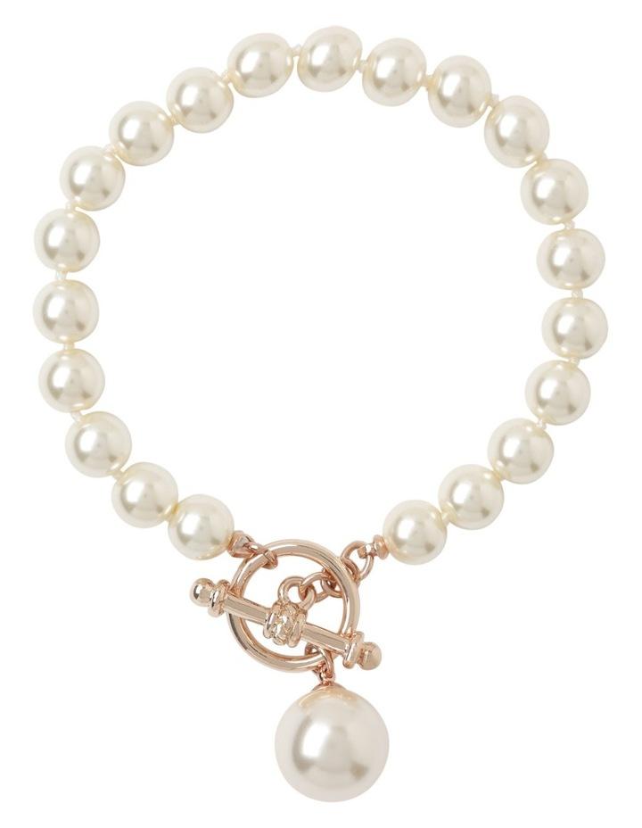 Faux Pearl FOB Bracelet image 1