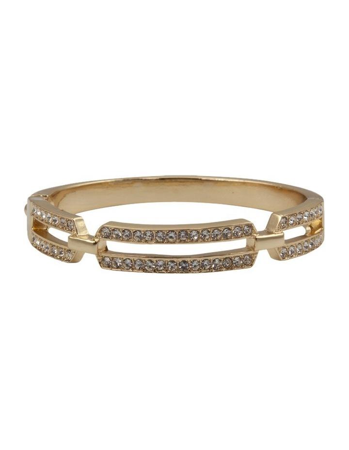 Stone Set Hinge Bracelet image 1