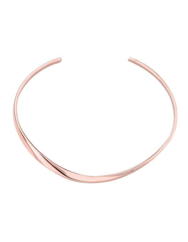 Iggy Twisted Bangle Rose Gold image 2