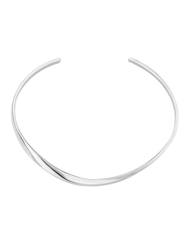 Iggy Twisted Bangle Silver image 2