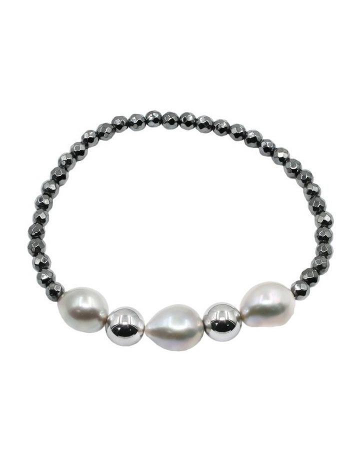 Contemporary Baroque Pearl Bracelet image 2