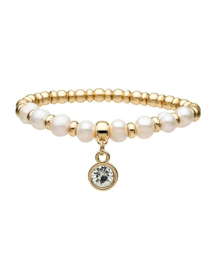 Fresh Water Pearl Stretch Bracelet image 1