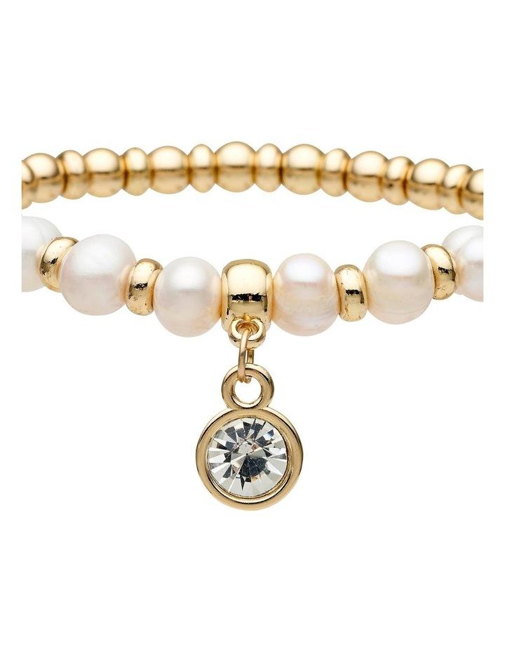 Fresh Water Pearl Stretch Bracelet image 2