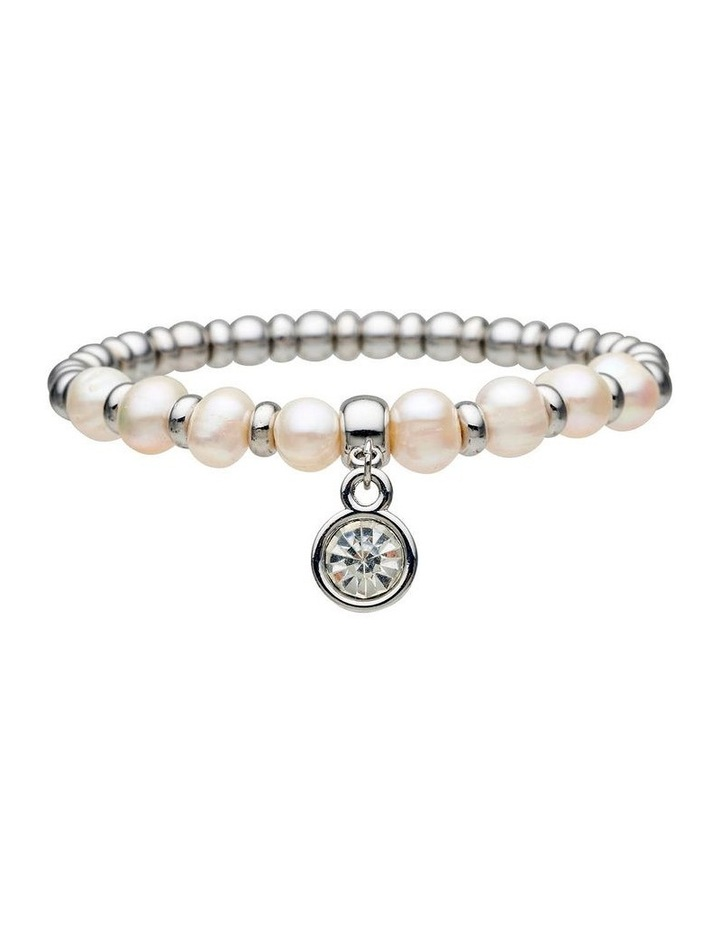 Fresh Water Pearl Stretch Bracelet image 1