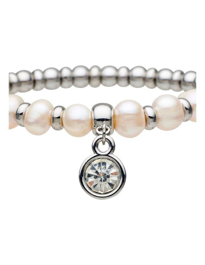 Fresh Water Pearl Stretch Bracelet image 2