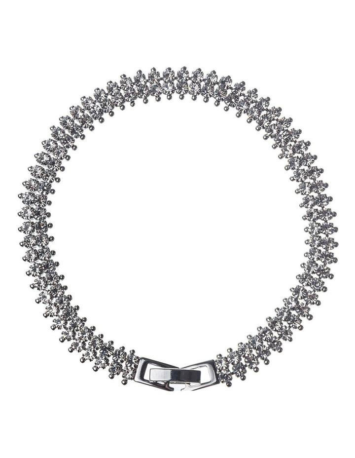 Double Row Cz Tennis Bracelet image 1