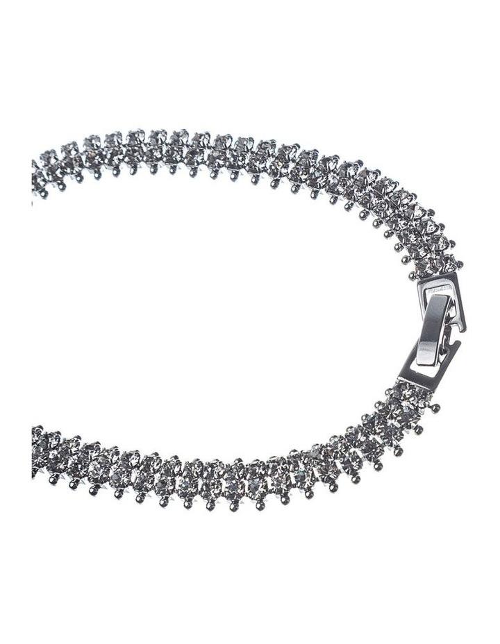 Double Row Cz Tennis Bracelet image 2
