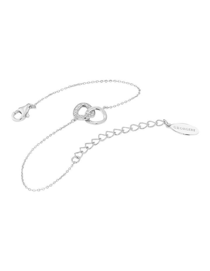 Lynx Rhodium Bracelet image 1