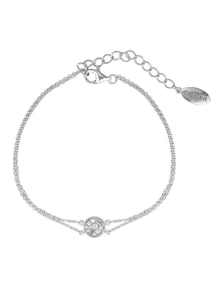 Mini Mosaic Silver Bracelet image 1